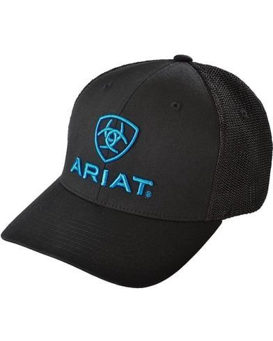 Ariat Blue Logo Embroidered Cap | Sheplers