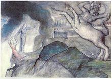 Minotaur - Wikipedia, the free encyclopedia  Mythology, Crete