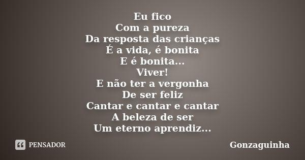 Gonzaguinha Frases De Inspiracao Frases E Musicas Trechos De