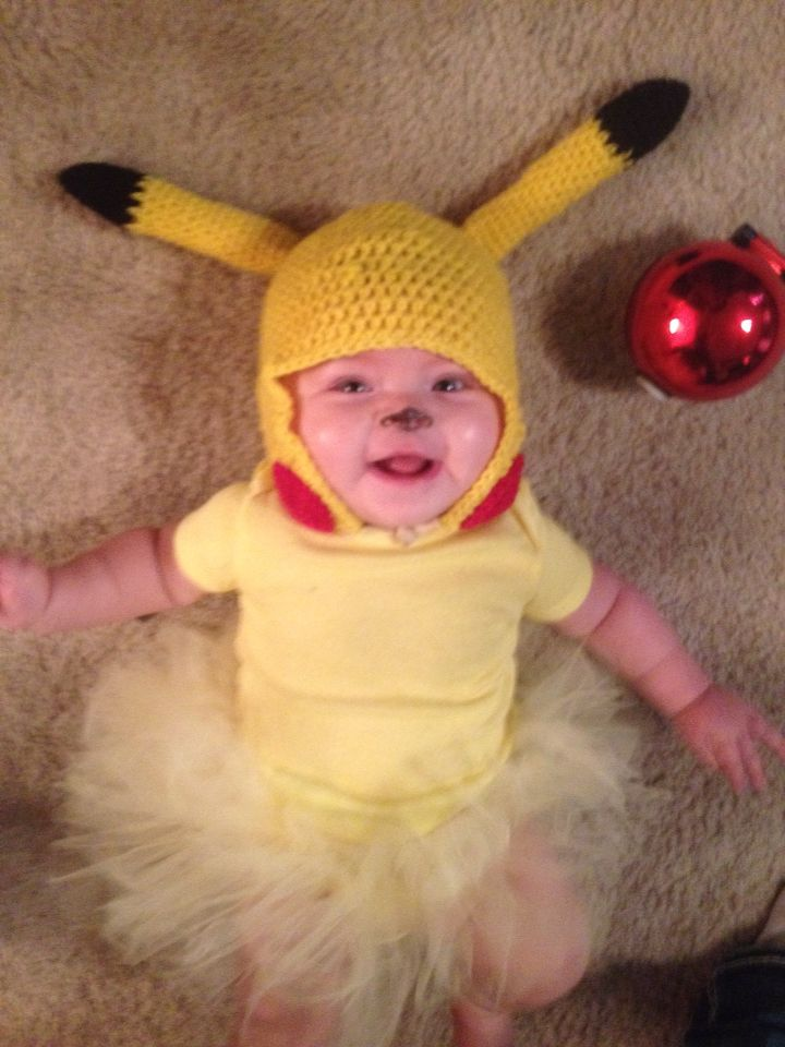 Baby pikachu costume