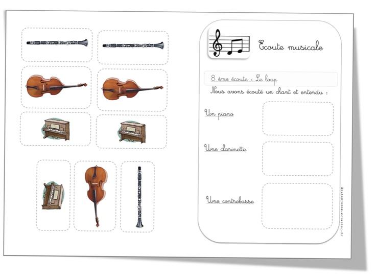 """CP : Fiches écoute musicale """"30 phonèmes en 30 chansons"""""""