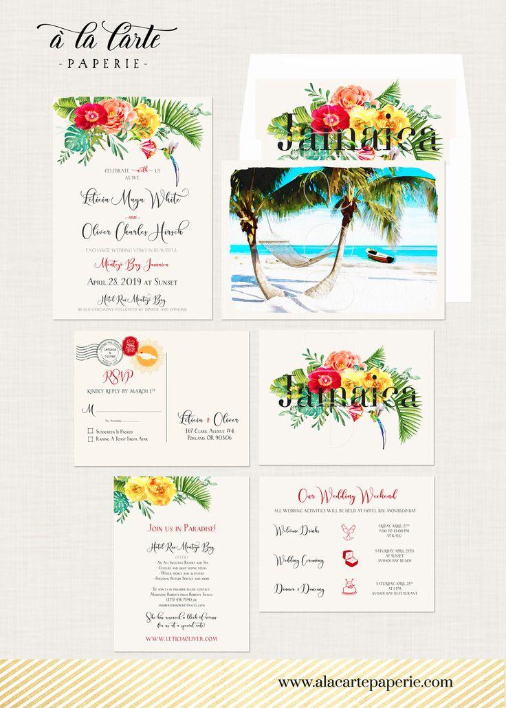 891 best A la Carte Paperie Destination Wedding Invitations Custom ...