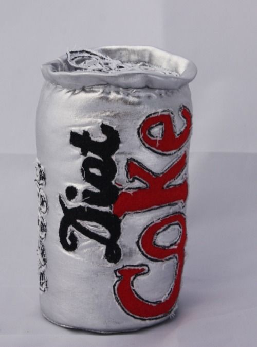 Diet Coke Can- soft sculpture