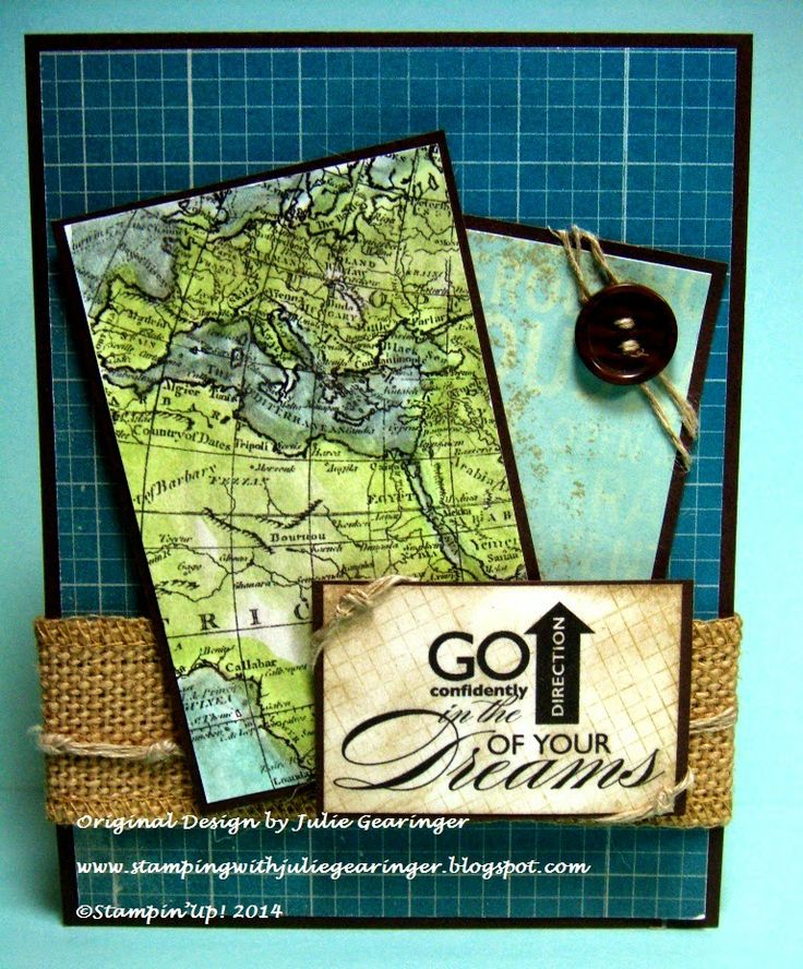 Stamping with Julie Gearinger: PPA197 Go in the Direction of Your Dreams