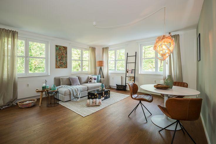 Musterwohnung: Das Objekt in Niederschöneweide in Berlin bietet 2- und 3-Zimmer Wohnungen zum Kauf.