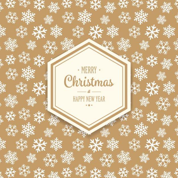 Рождественский дизайн фона Бесплатные векторы