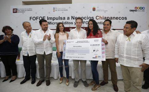 Chiapas es un estado emprendedor que cree en el talento de su gente: MVC
