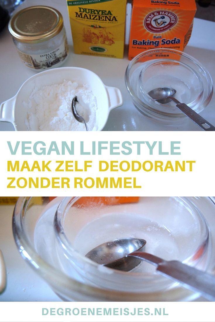 Waarschijnlijk de goedkoopste, meest natuurlijke en beste deodorant die ik ooit heb gehad. Zelfgemaakt! Eindelijk een deo waar geen rommel in zit en goed wérkt!  Wil jij weten hoe je zelf homemade deodorant maakt? Het is onwijs simpel en past helemaal in de vegan lifestyle.