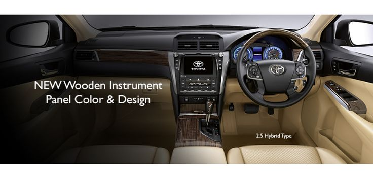 New Camry Hybrid - Interior Panel View - AUTO2000