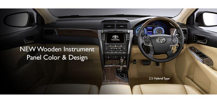 New Camry Hybrid - Interior Panel View - AUTO2000