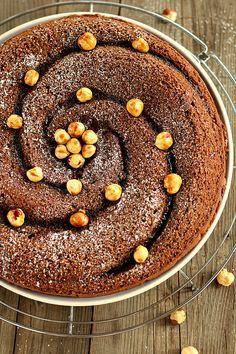 Torta morbida cioccolato e nocciole
