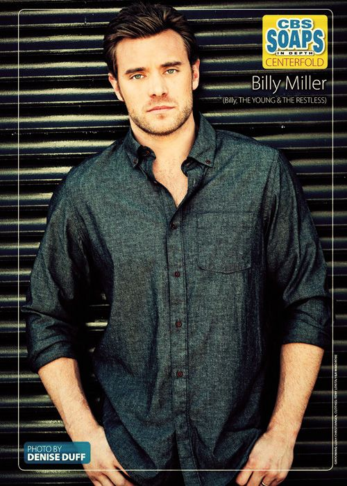 Billy Miller as Billy Abbott on Y&R