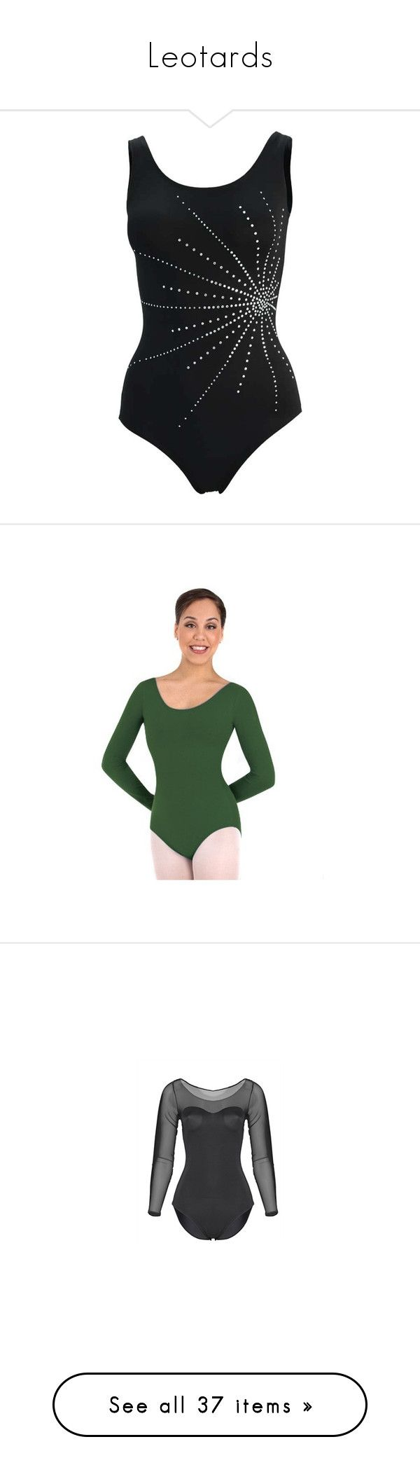 """Leotards"" by katerina-dobrowa ❤ liked on Polyvore featuring sport, tops, dance, leotards, ballet, bodies, dance clothes, home, home decor and dancer"