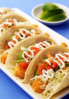 Top 11 ideas about fish tacos on pinterest guacamole for Flounder fish tacos