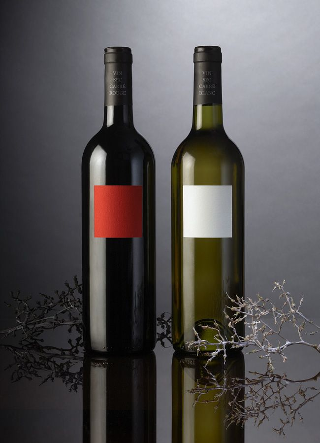 : Red And White, White Wines, Wine Packaging, Creative Packaging Design, Wine Labels, Design Galleries, Minimal Design, Design Archives, Creative Package Design