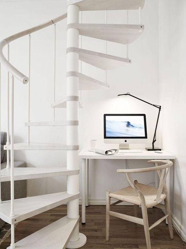 Las 25 mejores ideas sobre escalera caracol en pinterest for Escalera caracol 2 pisos
