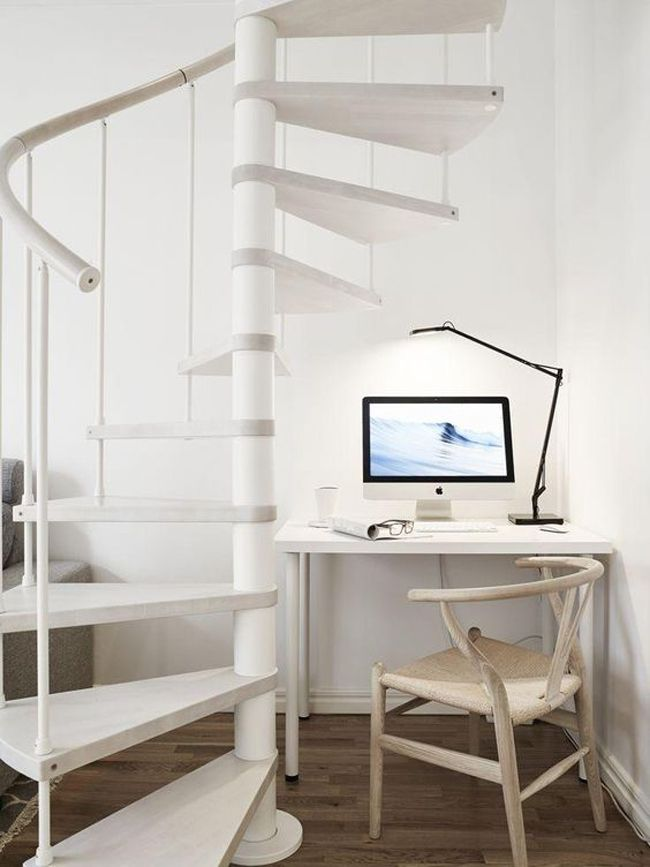 M s de 25 ideas fant sticas sobre antiguas escaleras de - Estanteria escalera casa ...