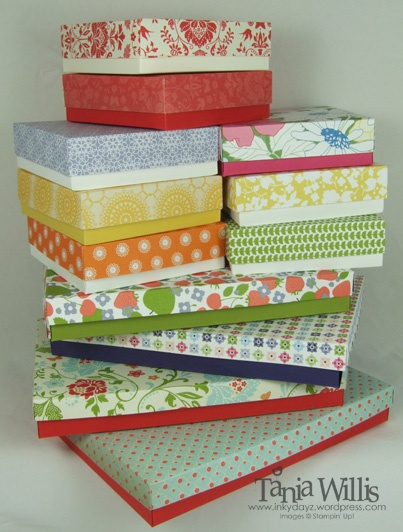 box making....i helped make these for a womens confrence and they was pretty easy once u get the hang of it, OH and addicting too