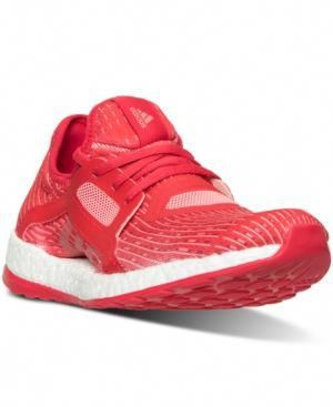adidas Women s Pure Boost X Running Sneakers from Finish Line - Red 11   DoesJordanSellWomensshoes 9a12755aa0