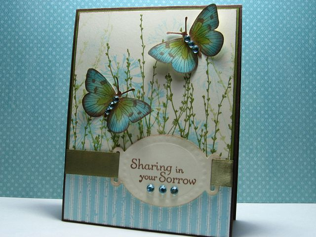 Hero Arts butterflies from CL383 Antique Engravings