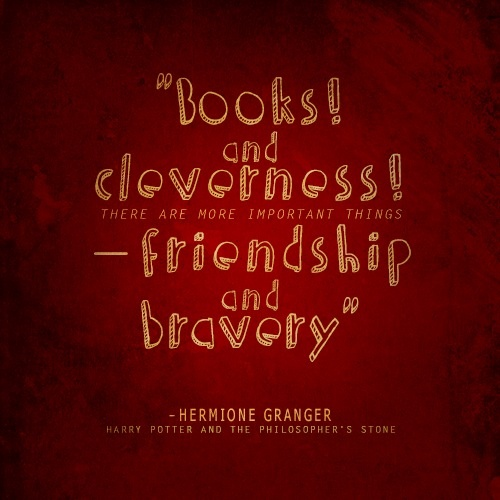 Harry Potter Friendship Wallpaper Quotes: 1000+ Hermione Quotes On Pinterest