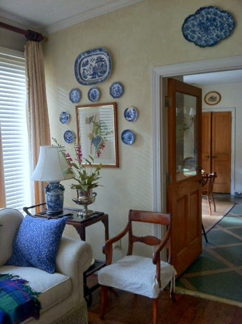 Blue And White Decorating 128 best blue and white plate decor images on pinterest | blue and