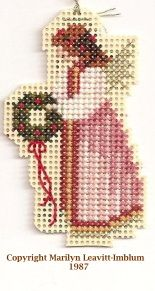 Pinterest site with links to free Angel cross stitch