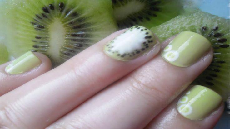 Kiwi Nails ▎Nail Art Tutorial