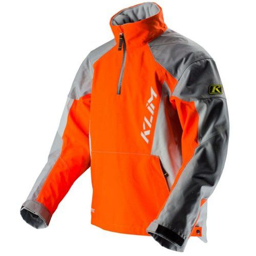 2013 Klim PowerXross Motorcycle Pullover - Orange - 3X-Large GUARANTEED TO KEEP YOU DRY� GORE-TEX� TWO-LAYER PERFORMANCE SHELL TECHNOLOGY HIGHLY BREATHAB.