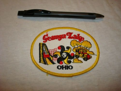 Vintage Geauga Lake Amusement Park Ohio Patch (before Six Flags Corp bought park)