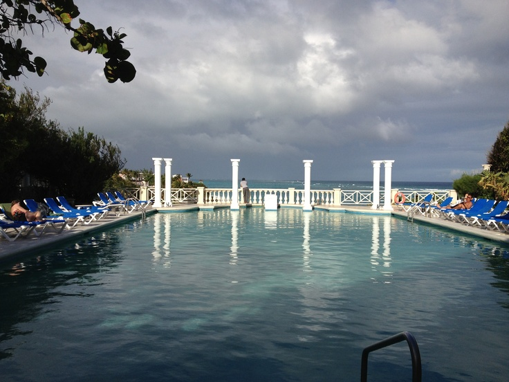 """The """"Chanel No 5"""" pool @ the Crane Hotel, Barbados ! Gorgeous spot for drinks!"""