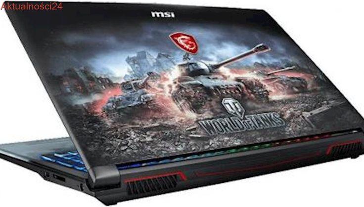 Laptop nie tylko dla fanów World of Tanks. Oto całkiem sensowny produkt MSI dla graczy