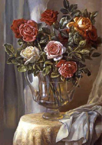 Розы, освещенные солнцем  - Михаил Сатаров