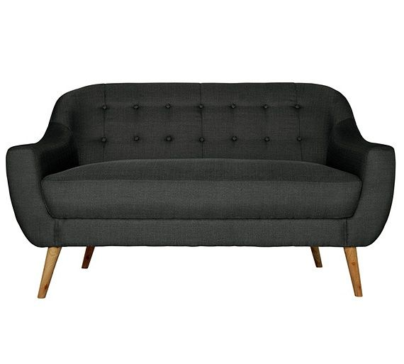 Buy Hygena Lexie Retro Regular Fabric Sofa - Lemon at Argos.co.uk, visit Argos.co.uk to shop online for Sofas, Sofas, armchairs and chairs, Home and garden