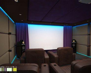 Конкурс лучший домашний кинозал: работы | PINWIN - конкурсы для архитекторов, дизайнеров, декораторов