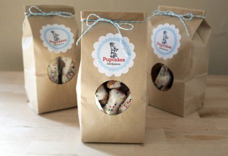 Homemade Dog Treat Packaging | dog biscuit packaging