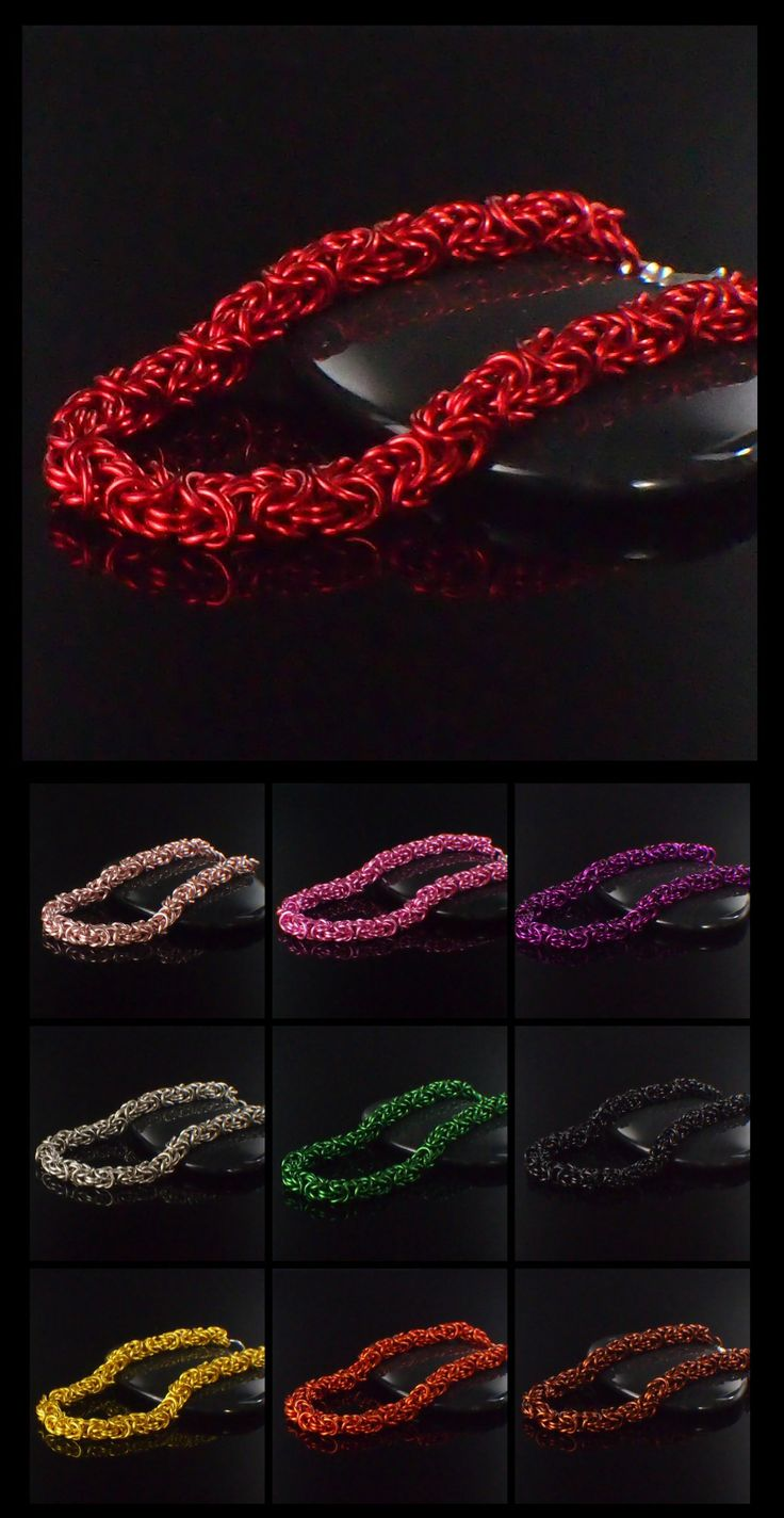 My First #Byzantine Bracelet Kit - #Chainmaille Jewelry for Beginners