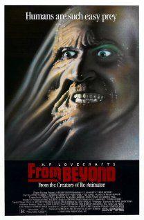 From Beyond (1986) signed by Stuart Gordon, Jeffrey Combs, Barbara Crampton, Ken Foree