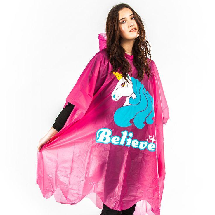Regenponcho Einhorn #einhorn #unicorn #poncho