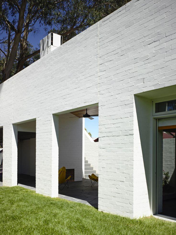 External Painted Brick - White