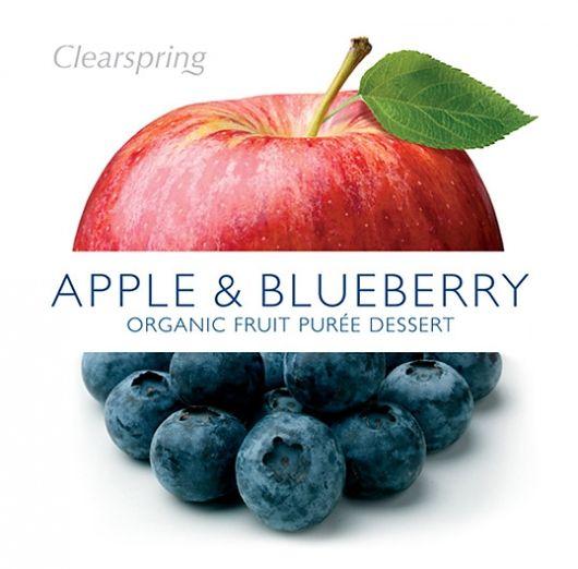 j'aime beaucoup le fait que la forme de la pomme est continuée avec le texte et les bleuets. Ceci crée beaucoup d'équilibre.