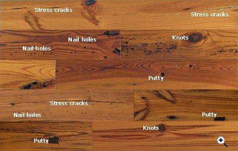 Ua Floors Olde Charleston Collection Reclaimed Heart