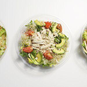 Kim Kardashian Health Nut Salad Eating - KIM KARDASHIAN WEST