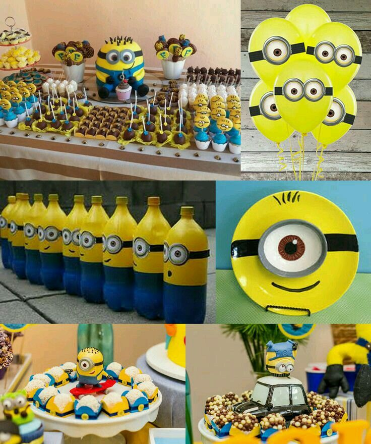 minium minions pinterest kinder geburtstag geburtstage und essen. Black Bedroom Furniture Sets. Home Design Ideas