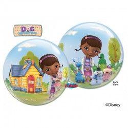 Balão Bubble para festas de aniversário do tema Doutoura Brinquedos /  Doc Mc Stuffins Bubble Balloon