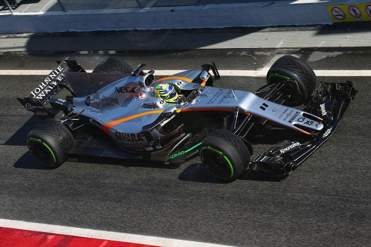 2017 Force India VJM10 - Mercedes  (Sergio Perez)
