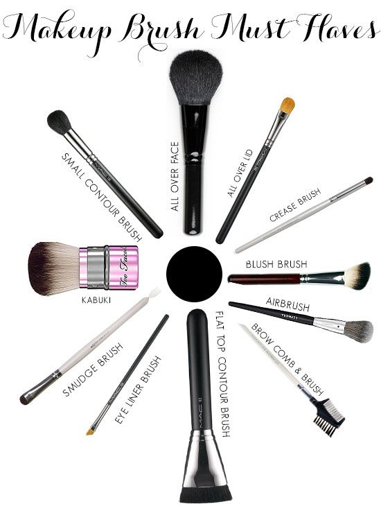 Makeup Must Haves For Beginners: Makeup Brush Must Haves!!