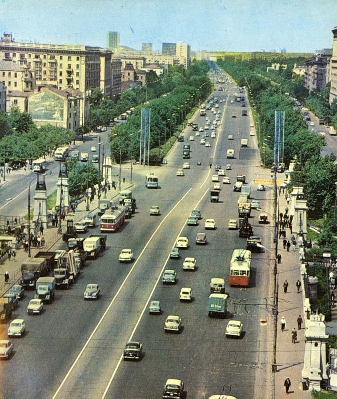 Ленинградский проспект, 60-е