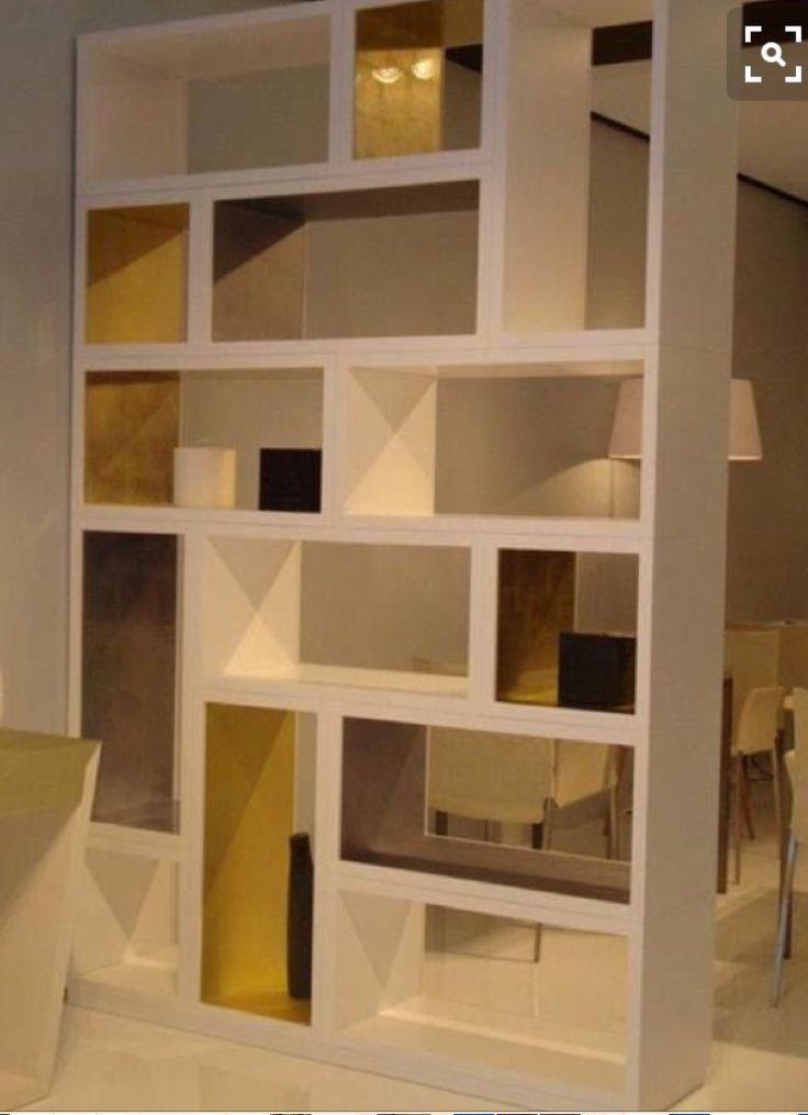 17 mejores ideas sobre estanter a separador de ambientes - Ideas estanterias ...