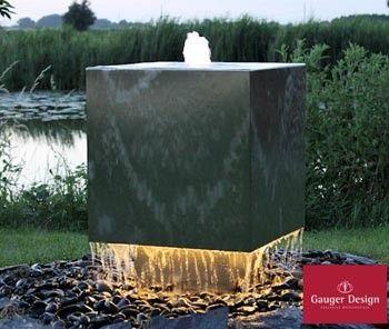 13 besten gartenbrunnen von gauger design bilder auf. Black Bedroom Furniture Sets. Home Design Ideas